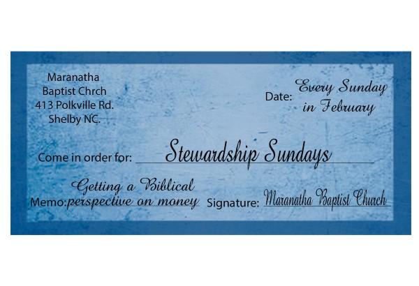 The Final Stewardship Sundays